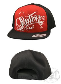 Sullen 7 Punch Snapback, Red