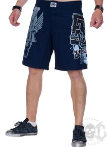 Amped Up Boardshorts, Blue