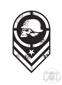 Metal Mulisha Batallion 3inch Sticker