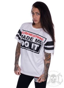 eXc Made Me Do It Mesh Tee, Vit