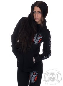 eXc Girls That Ride Hoodie