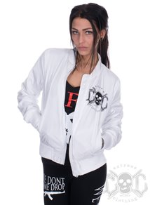 eXc Light Bomber Jacket, Vit