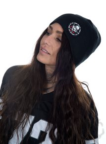 Rebel For Life Beanie, Svart