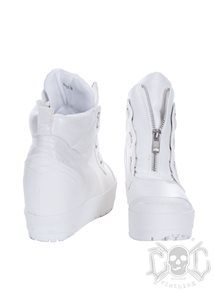 High Heel Wedge Sneakers, Vita