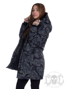 Camo Quilted Parka