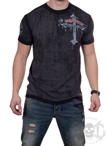 Affliction Wicked Tee, Svart