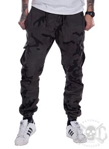 eXc Dark Camo Cargo Pants Men