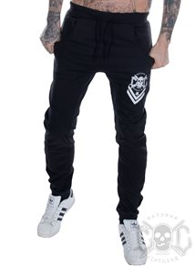 eXc NEW LOGO SWEATPANTS UNISEX, SVARTA